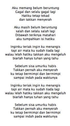 Lirik Lagu Dewi Persik Indah Pada Waktunya