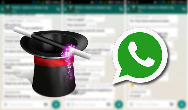خدعة لارسال رسائل أو صور على الواتس آب تختفي بعد مدة تحددها انت !