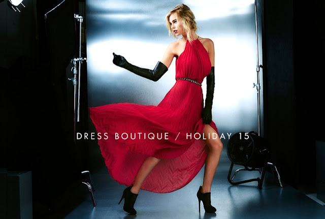 Guess Party Dresses Holiday 2015 Lookbook