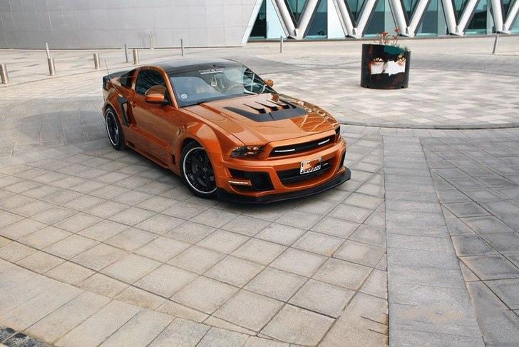 Ford Mustang TORNADO 1