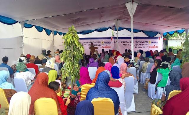 Jelang Ramadhan, UJP PLTU Jeranjang Gelar Bansos