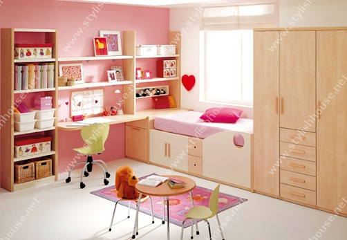 Stylish wooden bedroom for children bedroom add it to your house