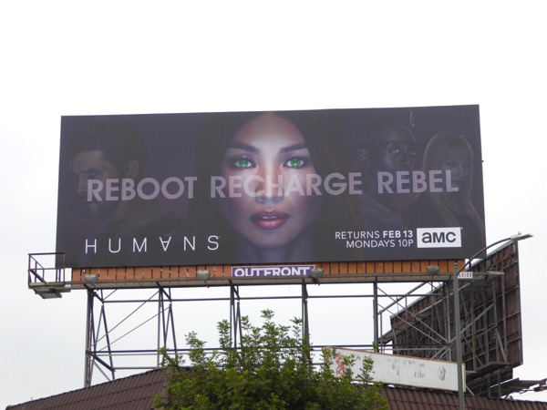 Humans season 2 billboard