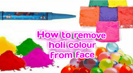 How-to-remove-holi-colour-from-the-face
