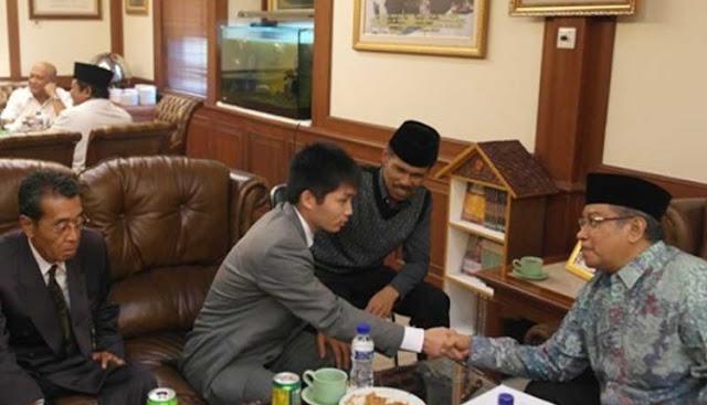 Warga Jepang Masuk Islam di PBNU: Saya Mengenal Islam Sebagai Agama Yang Peduli Dengan Fakir Miskin