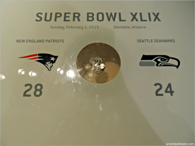 Anillo Super Bowl XLIX