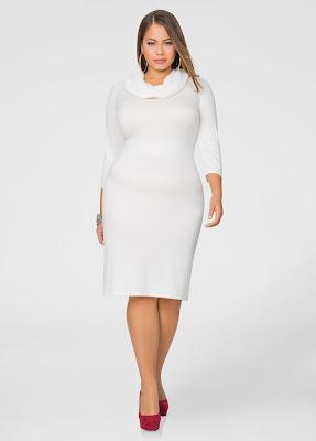 vestidos para gorditas de fiesta blancos