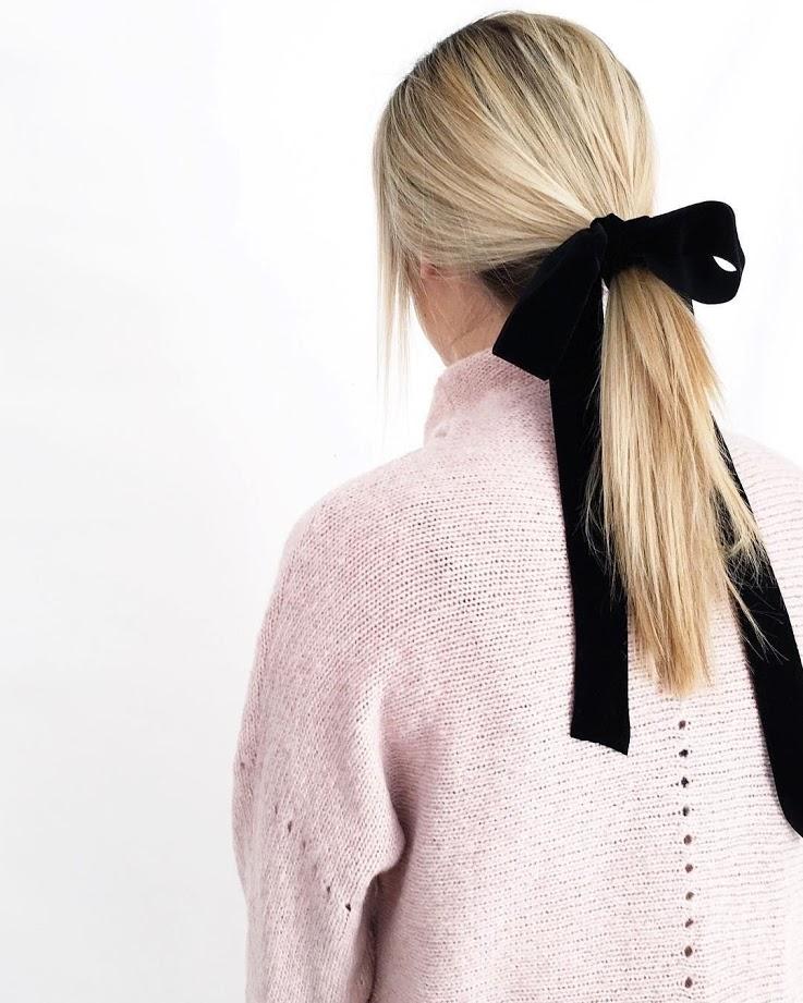big velvet bows