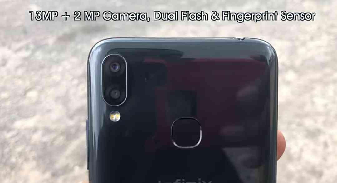 13MP + 2MP Dual Rear Cameras