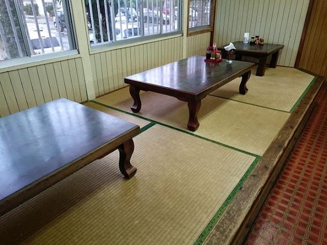 ミニレストラン具志川の店内の写真