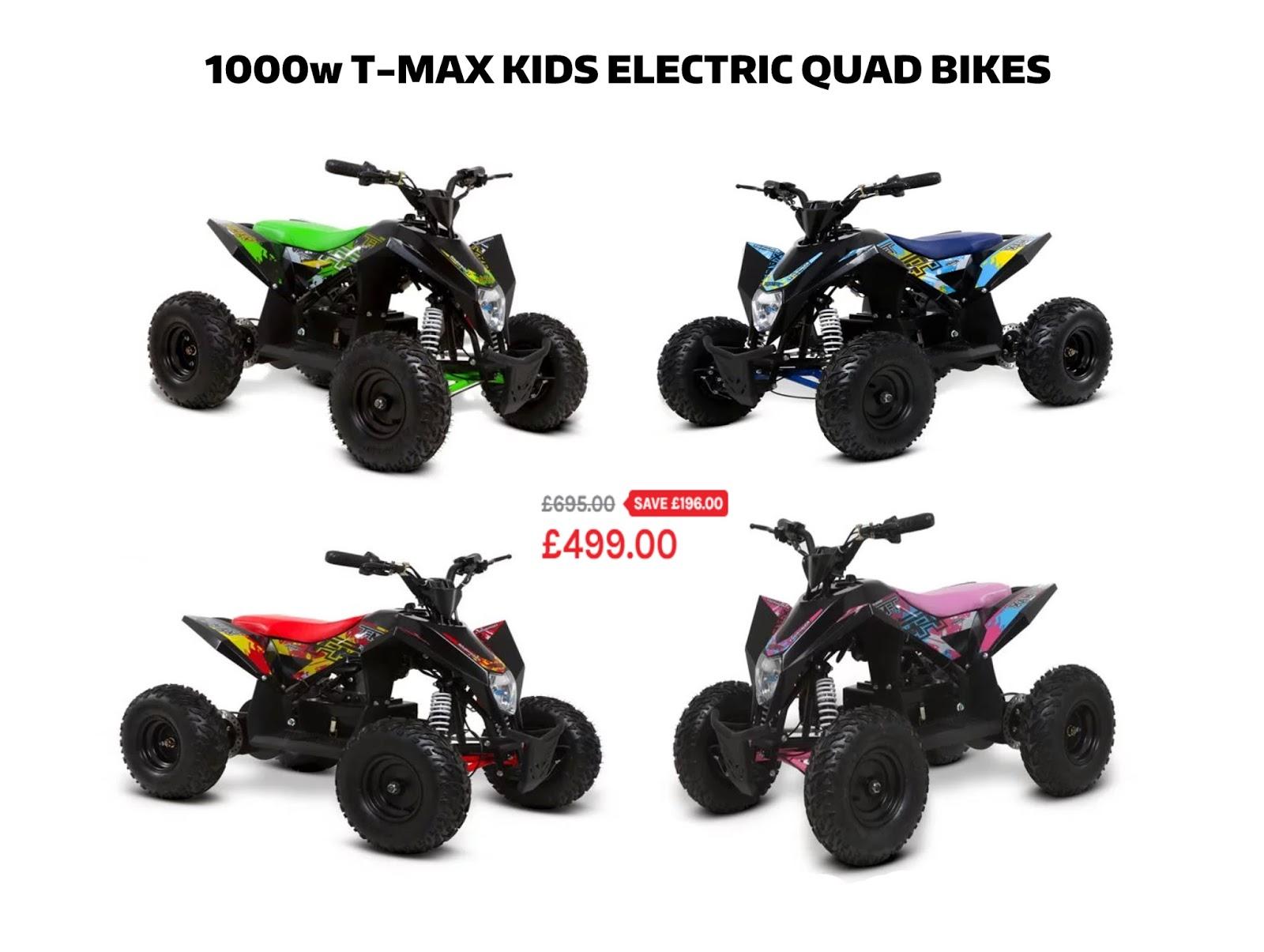 FunBikes Quads and Mini Motos: Kids Quad Bikes On Sale Now