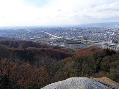 交野山 観音岩からの眺望