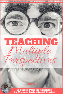Need ideas for teaching multiple perspectives in the secondary classroom? Your middle or high school students will learn the importance and how to with these easy tips. #teaching #iteach678 #iteachhs