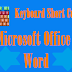 Microsoft Office Keyboard Shortcuts To work Faster and easy