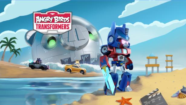 Angry Birds Transformers Mod Apk Terbaru (Crystal/Unlocked)