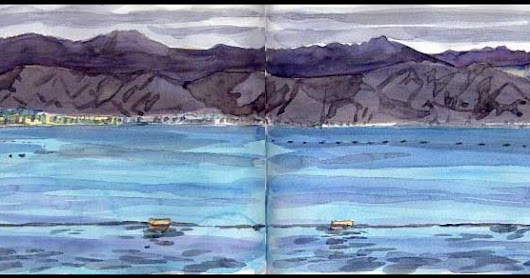 3 DAYS TRIP: ISRAEL-JORDANIA EN SKETCHES