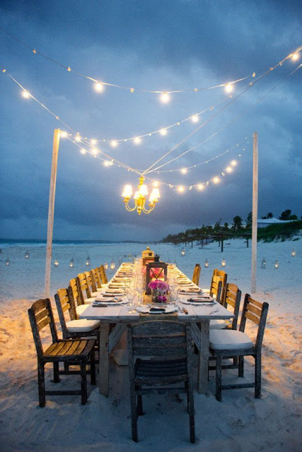 Idyllic Tables and Weddings on The Beach 9