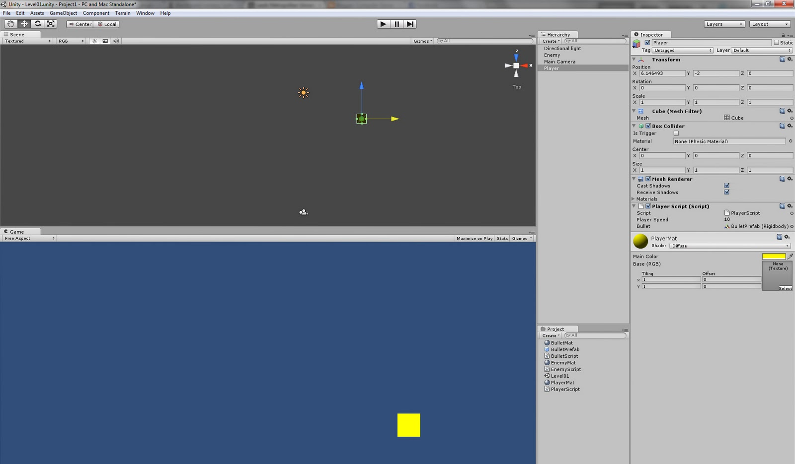 Computer Games Design: Project 2: Space Invaders Clone, Game