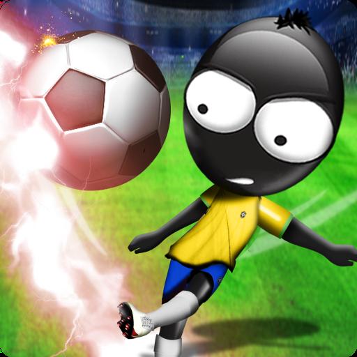 تحميل لعبه Stickman Soccer 2014 v2.3  مهكره وجاهزه للاندرويد