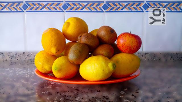 Salud, Comer la corteza de las frutas, Vitaminas en frutas, Kiwi, Naranja, Propiedades de las frutas,