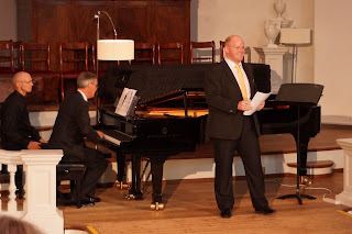 Roger Vignoles and Nicky Spence at the Oxford Lieder Festival