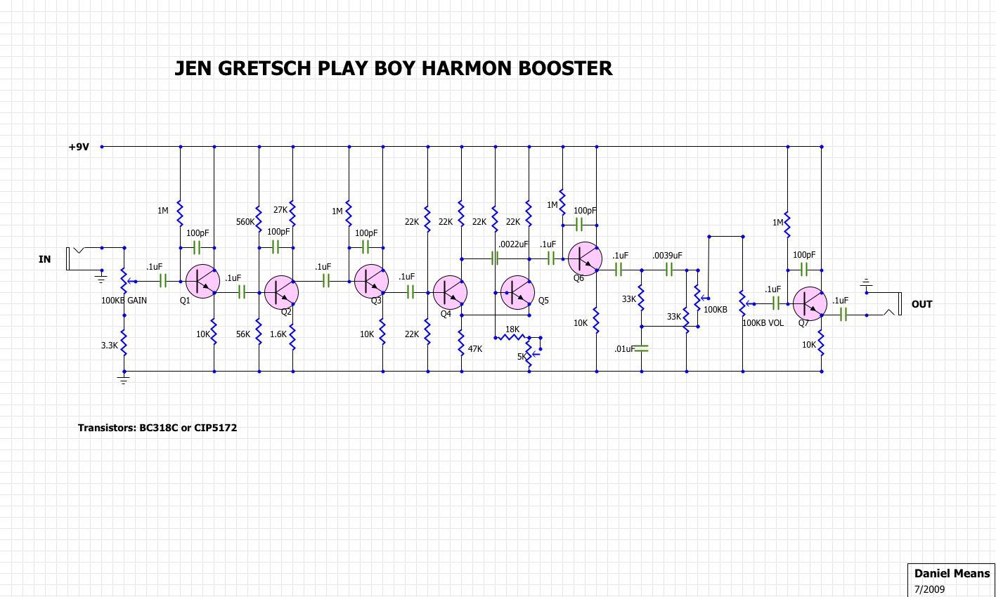 gretsch amp schematic