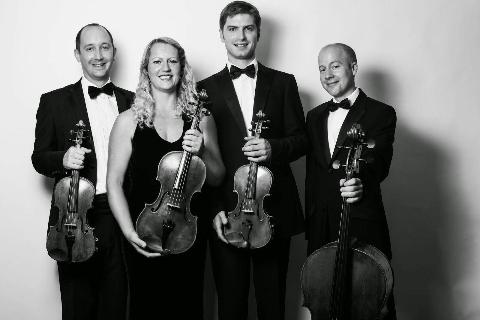 The Tippett Quartet - photo credit Thurstan Redding