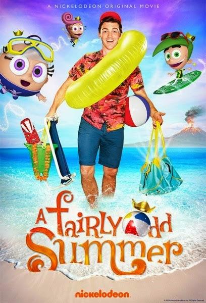 Poster do filme Os Padrinhos Magicos no Paraiso