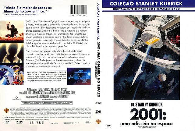 Capa DVD 2001: uma odisséia no espaço (Coleção Stanley Kubrick)