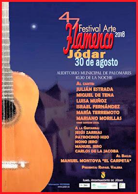 FESTIVAL DE ARTE FLAMENCO - JÓDAR 2018