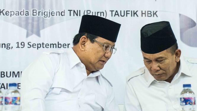 Unggah Foto Saat Jadi Prajurit TNI, Prabowo Ditunggu di Istana Negara