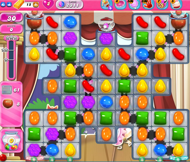 Candy Crush Saga level 2311