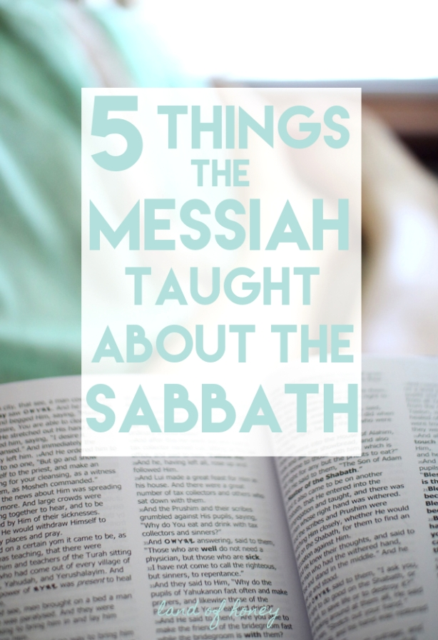Here are five things the Messiah taught us about the Sabbath day | Land of Honey