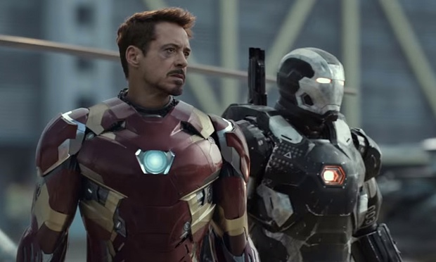 Robert Downey Jr. in Captain America: Civil War