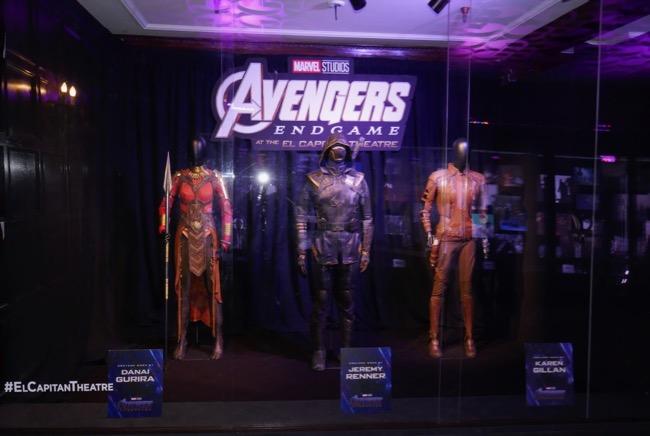 Avengers Endgame Okoye Ronin Nebula costumes