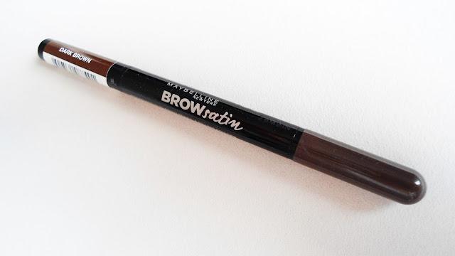Maybelline Brow Satin Çift Taraflı Kaş Kalemi | Dark Brown