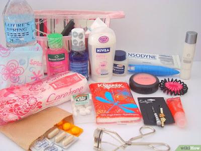 kit emergencia mujer