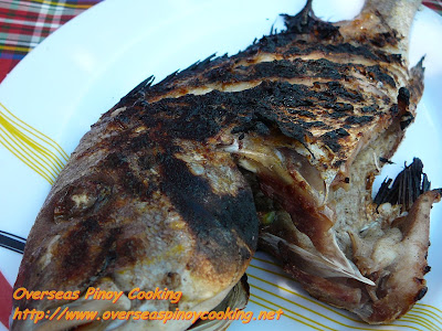 Sugba - Grilled fish Lunch at Balicasag