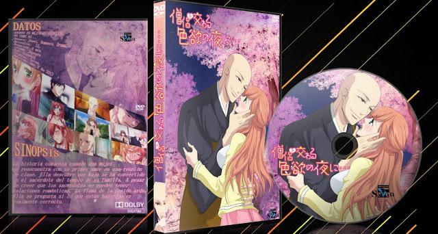 Souryo to Majiwaru Shikiyoku no Yoru ni...   Cover DVD   MEGA  