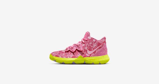low priced 28f8e 39fb9 NickALive!: Nike Kyrie 5 X SpongeBob SquarePants ...