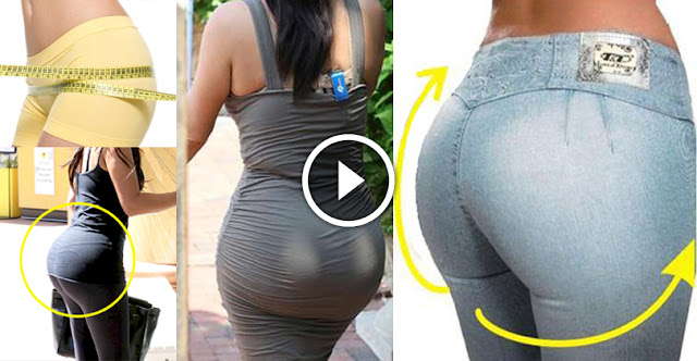 No Need Of Any Surgery - Just Follow This And Get Big Butt Within 10 Days!