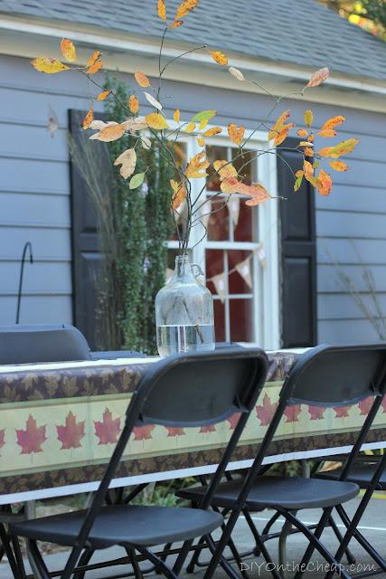 Fall Family Reunion Table