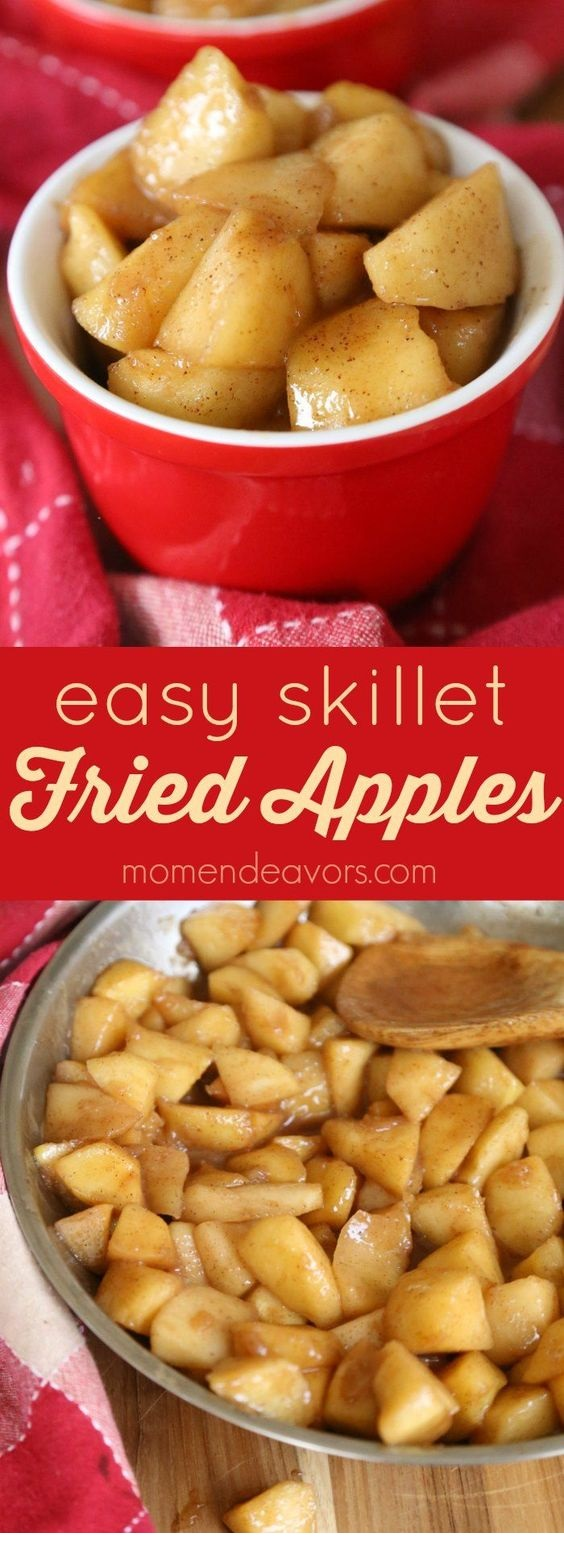Easy Skillet Fried Apples