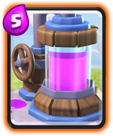 Carta Coletor de Elixir de Clash Royale - Cards Wiki