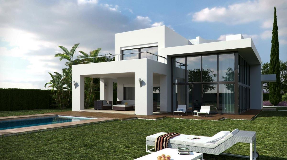 Viviendas unifamiliares arquitectura - Fachadas viviendas unifamiliares ...