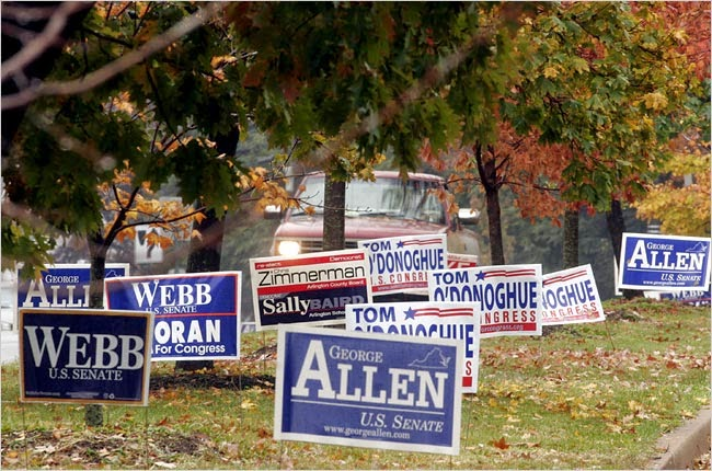 Science Of Collecting Political Yard Signs