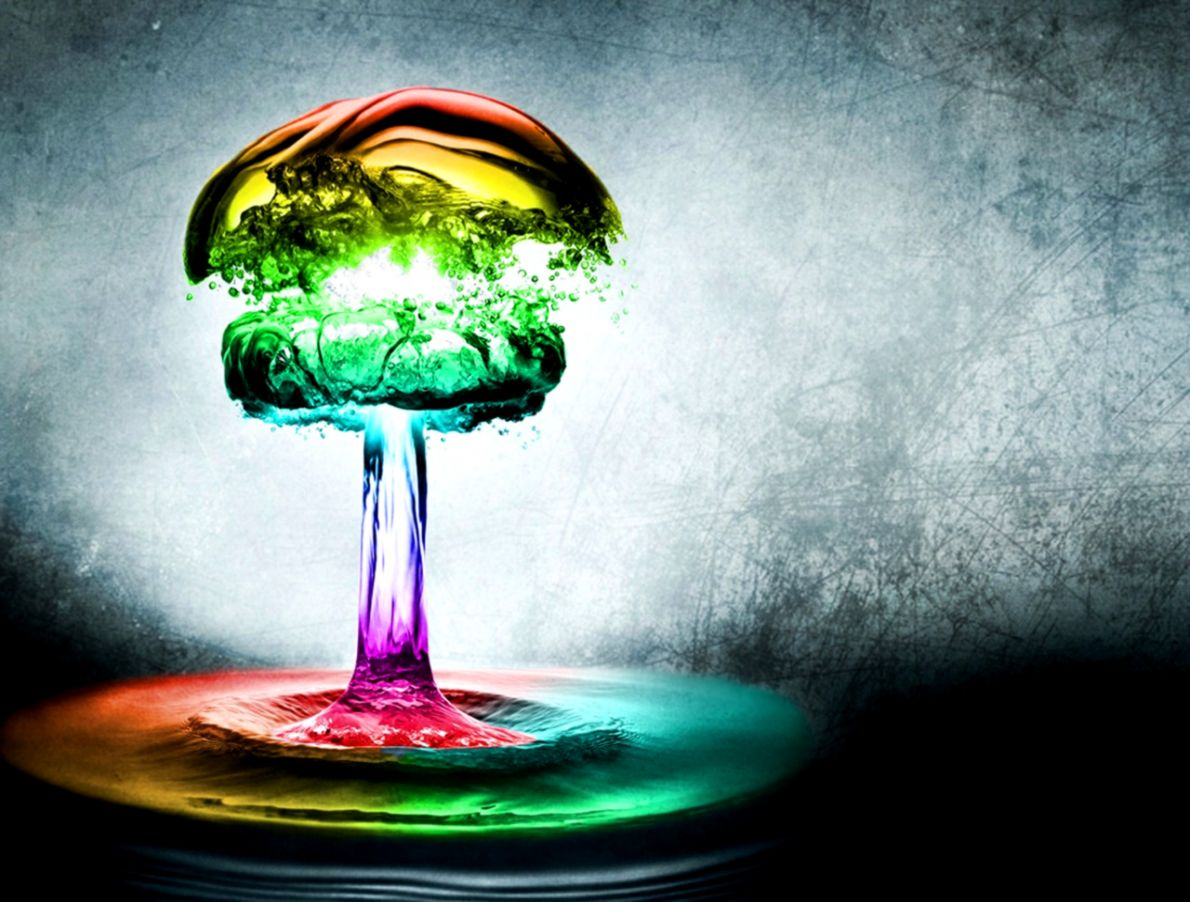 Rainbow Drips Wallpapers Hd Desktop Wallpapers Book