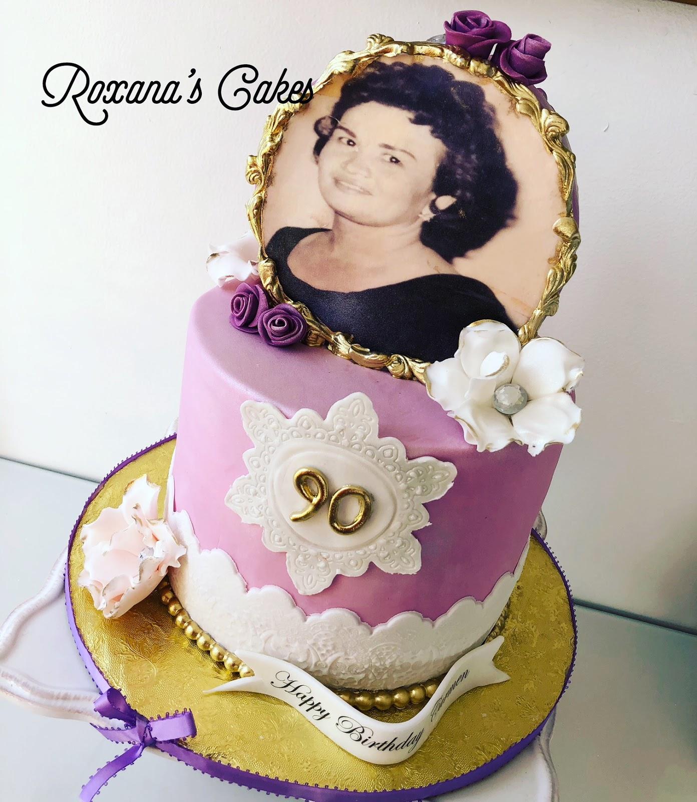 90th Birthday Cake Happy Carmen