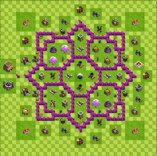 Base farming layout th8 by soheil datan base farming layout th8 by