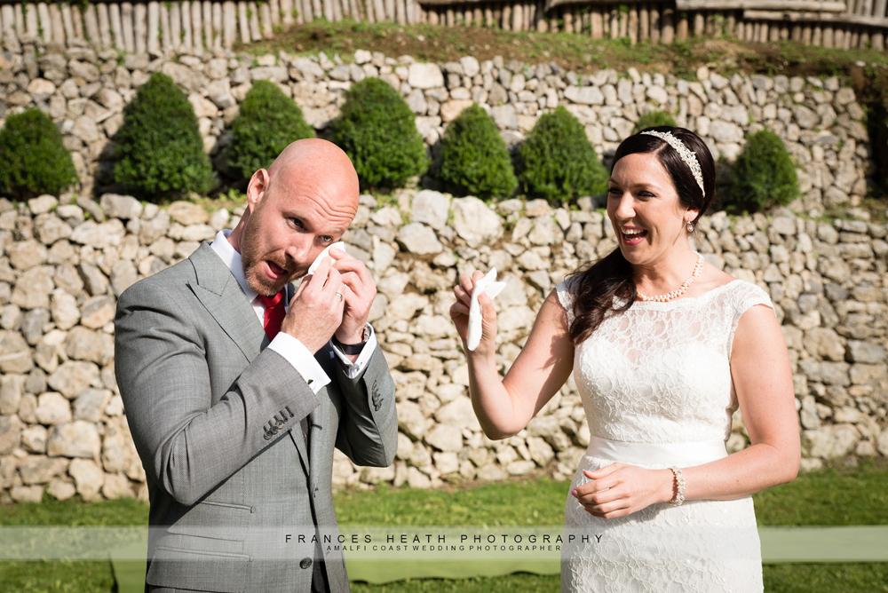 Wedding ceremony Amalfi coast
